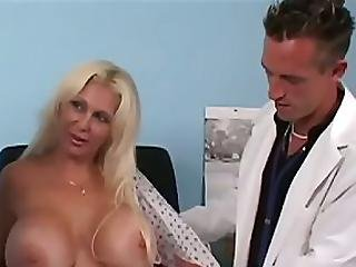 Kayla Told The Us About The Pain In Her Back And Thought That Her Megalithic Mammaries Were To Blame We Ve Seen This Condition Before Knowing There S No Cure We Decided To Ease Her Pain With Some Dick