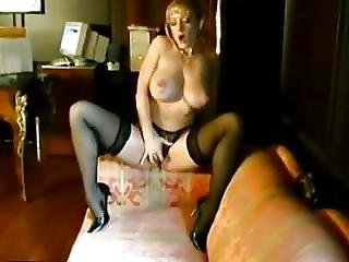 Amazing Danni Stripping And Masturbating