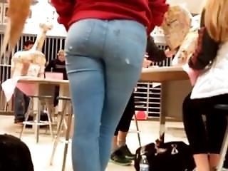 Amateur, Ass, German, Jeans, Teen, Tight