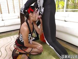 Blond Teen High Heels Bitty Bopper Gets A Scare