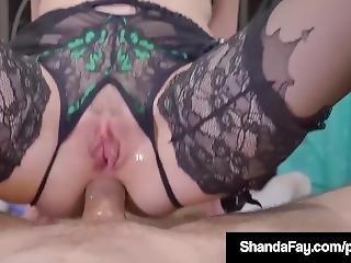 Canadian Cougar Shanda Fay Gets Hard Anal Fuck From Customer