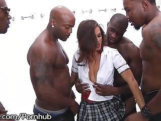 anal, babe, blowjob, tissemand, dobbel penetration, gangbang, hardcore, interracial, penetration, pornostjerne, rå, skole, arbejdsplads