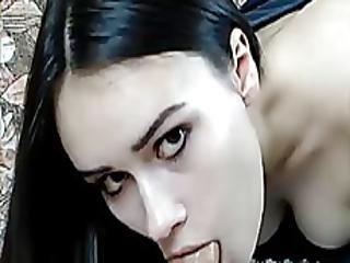 Sexy Busty Teen Gives Blowjob - Steamycamz.com