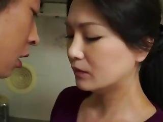 Horny Mom See Girl Boyfriend Do Quick Fuck In The Kitchen