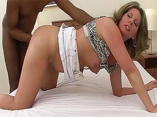 Stepmom Fisted By Her Black Toyboy