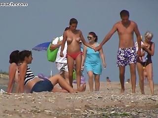 Topless Beach Women