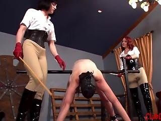 Domination beating Caning spanking