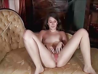 Mostrar, Peluda, Milf, Sexo No Sofá, Fazer Strip
