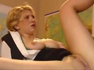 肛門の, ブロンド, 成熟した, 恥ずかしい, 先生