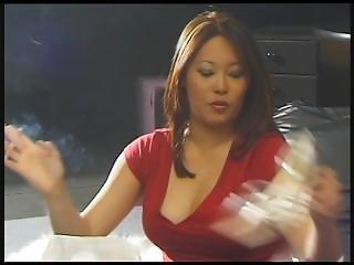 Yin Asian Milf Smoking