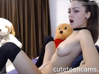 October Webshow Teen Girl Masturbating On Cam