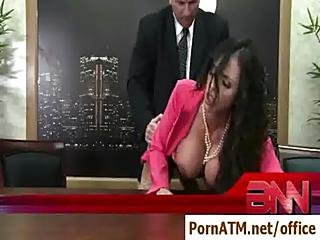 Sexy Big Tit Secretaries Banged By Their Bosses - Clip04