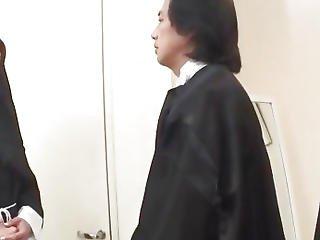 1st Hardcore Experience For Japan Nun,menacing Hitomi Kanou