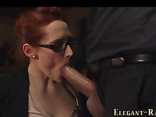 Posh Euro Slut Spermed