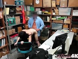 Teen Thief Alex Harper Takes Cock From Behind