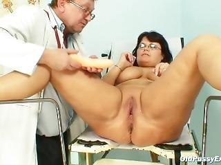 Old Pussy Exam Daniela