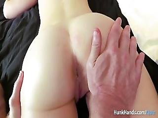 Bubble Butt British Babe Squirts All Over The Hotel Bed In Real Massage Amateur Pov