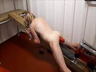 anal, rompe, dildo, fangehull, knulling, maskin knulling, stuepike, naken, sexy, leker
