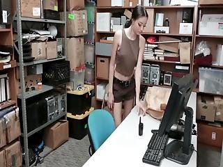She Already Knew That Cfnm Sex With The Cop Was Her Way Out Check Out The Website For More Full Scenes