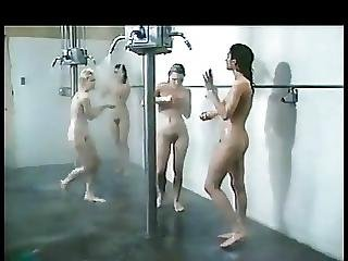 Catfight, Compilation, Mature, Shower, Vintage