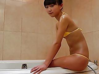 Mai Bikini Teen Bathing And Oiled Non Nude
