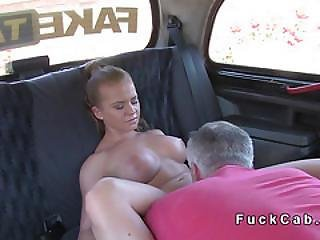 Big Cock Cab Driver Fucks Czech Babe With Huge Cock