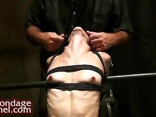 Bondage Backbending Neck