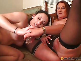 The Girl With Pigtails Fucks His Girlfriend