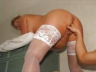 Plump German Mature Fisting And Anal