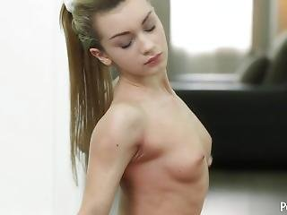 Flexible Teen With Small Frame Sonya Sweet Bouncing On Big Dick After Yoga