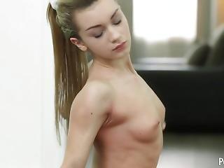 loira, caralho, flexível, hardcore, mamas pequenas, Adolescentes, ioga