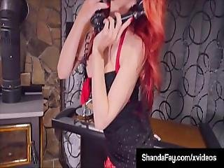 Smoking And Squirting Fans Enjoy As Housewife Shandafay Fucks