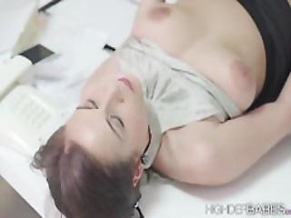 Hot Babe Antonia Fucks Wildly Until She Gets Sprayed With Cum