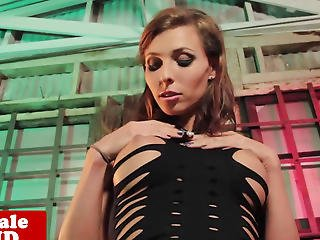 Ladyboy Gal Sienna Grace Solo Masturbating
