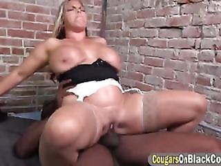 Big Tits Brunette Milf Service Big Cock In Prison
