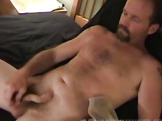 Aged Non-professional Greg Jerking Off