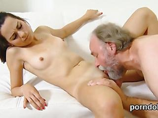 Lovable College Girl Is Seduced And Reamed By Her Older Schoolteacher