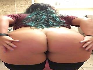 Yummy Thicc And Busty Teen Stripteasing Pawg