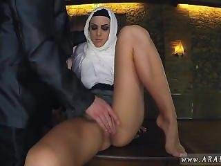 Arab Lebanon Girl Hungry Woman Gets Food And Fuck