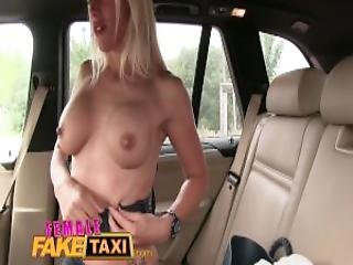 Female Fake Taxi Two Sexy Ladies Have Backseat Fun