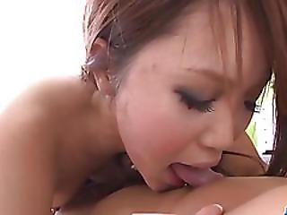 Teen, Miyu, Craves For A Big Cock In Her Little Vagina