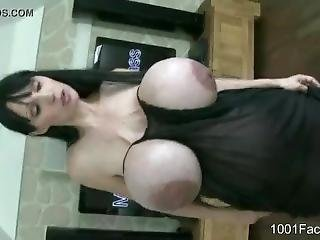 Penelope Black Diamond Pregnant Cum