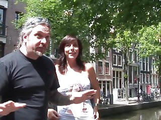 Brawny Dutch Hooker Showered With Cum By Tourist