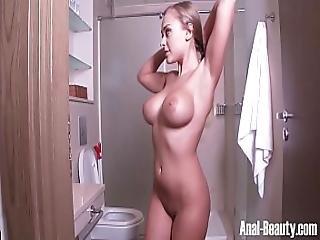 anal, vakker, soverom, blond, cumshot, hardcore, hott tenåring, barbert, Tenåring, Tenåring Anal