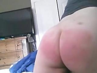 Indian Self Spanking Big Butt