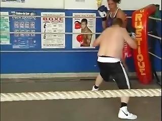 Mixed Boxing : Sabrina Giuliani Vs Beat (2nd Fight)