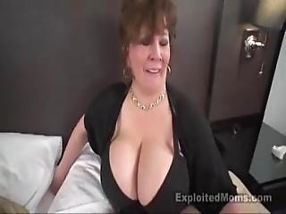 Mature Big Boob Bbw Slut In Interracial Video
