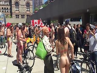 Naked Bike Hairy Woman