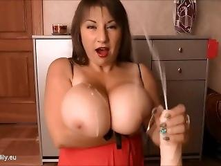μεγάλο βυζί, χύσιμο, παίξιμο, ιαπωνικό, αυνανισμός, Pov