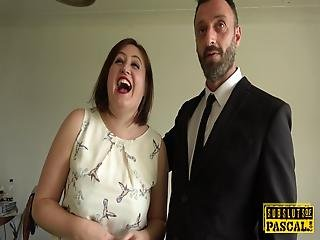Chubby British Submissive Fucked Anally